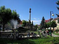 Rynek w Międzylesiu