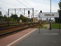 Stacja PKP Dęblin