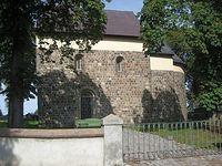 Budowla w stylu romańskim w Gieczu