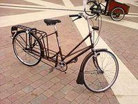 Rower przedłużany - możliwość założnenia sakw i fotelika