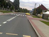Czyżowice i szybki zjazd do Wodzisławia