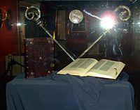 Biblia Gutenberga w Muzeum Diecezjalnym w Pelplinie