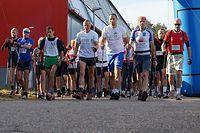 Start II Maratonu NW - Blachownia 2012