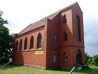 Dawny kościół ewangelicki z końca XIX w., wystawiony na sprzedaż