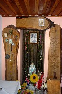 Bromierzyk wnętrze kaplicy Św. Teresy