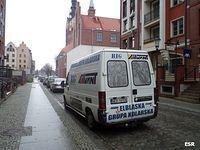 Auto Elbląskiej Grupy Kolarskiej