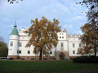 Baranów Sandomierski – elewacja frontowa zamku
