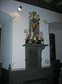 Baranów Sandomierski – figura MB w kaplicy zamkowej