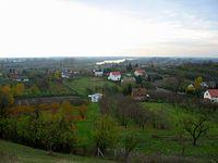 Sandomierz – widok ze wzgórza Salve Regina