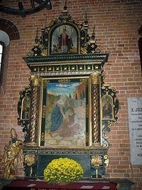 Sandomierz – ołtarz św. Zyty w kościele św. Jakuba