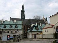 Sandomierz – z perspektywy ul. Jana Długosza
