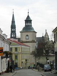Sandomierz – perspektywa ul. Mariackiej