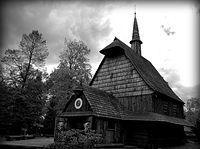 kościół św.Michała w Katowicach w Parku Kościuszki. (2007) rok