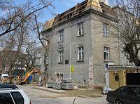 Dom Welecki na ul. Chocimskiej w remoncie