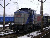 SM42-2414 Lotos Kolej odpoczywa na stacji w Tomaszowie Mazowieckim