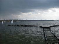 Jezioro Kierskie w kwietniu