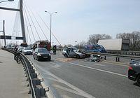 Groźnie wyglądający wypadek, na szczęście bez ofiar