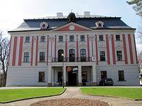 Velké Hoštice. Barokowy pałac