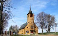 To już Polska, kościół w Pietraszynie.