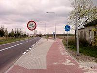 DDR wzdłuż drogi wojewódzkiej 703