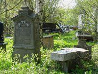 Lapidarium przy cmentarzu w Jazgarzewie