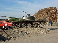 Czołg w Pruszkowie