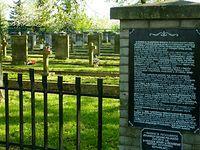 Cmentarz żołnierzy poległych w Bitwie nad Bzurą w 1939 roku. Kompina