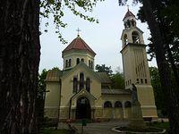 Kościół pw. Przemienienia Pańskiego w Tworkach wybudowany jako cerkiew prawosławna w latach 1904-1906