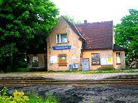 Stary dworzec kolejowy w Swarzewie