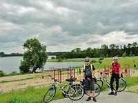 Nad jeziorem Godziszewskim od strony Demlina