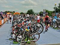 Malbork. Garmin Iron Triathlon 2013 r