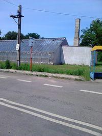 Przystanek autobusowy w Wólce Topolowej