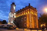Ratusz w Sandomierzu (by night)
