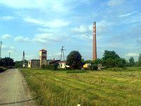 Ruiny cegielni niedaleko Dobronia