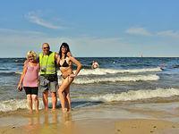 Na plaży w Brzeźnie
