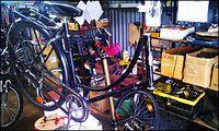Przygotowanie roweru Ewy do malowania