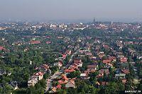 Tarnów widok ze Góry Św. Marcina (Okolice Tarnowa)