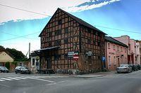 XVIII wieczny spichlerz zbożowy w Łabiszynie