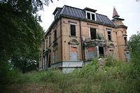 Zniszczony Pałac w Rzuchowie