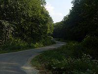 Pierwszy poważnijeszy podjazd - Arłamów