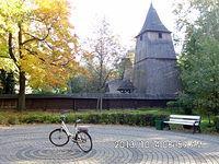 Brynów – XVI wieczny kościół pod wezwaniem Świętego Michała Archanioła w Parku Kościuszki przewieziony przed drugą wojną światową z Syryni koło Rybnika