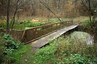 Mostek an kanale Łasica