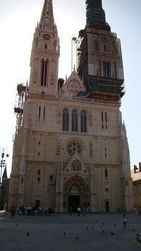 Katedra robi wrażenie, szkoda, że była akurat remontowana