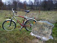 Rower nie mój, droga prywatna... ;)