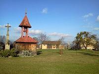 Dzwonniczka, krzyż i wiatrak