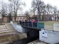 Mostek nad starym kanałem bydgoskim w okolicach ul. Nakielskiej