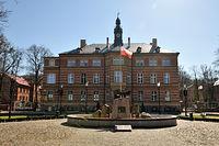 Budynek jednostki wojskowej w Wejherowie