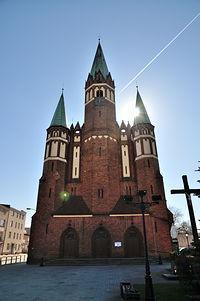 Neogotycki kościół św. Stanisława Kostki w Wejherowie