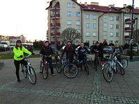 Zbiórka - pierwsza Rowerowa Środa dla Kobiet w 2014