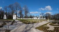 Biała Podlaska. Park Radziwiłłów. Panorama